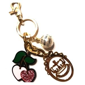 Original JUICY COUTURE Cherry Charm Fob Purse